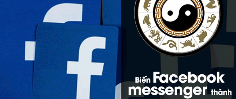 Khi lập trình viên chơi facebook – Biến Facebook messenger thành bot tra cứu tử vi