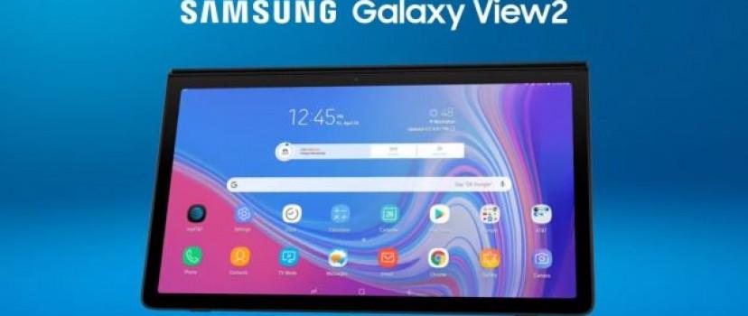 TV di động Samsung Galaxy View 2 đã bắt đầu được bán tại Mỹ