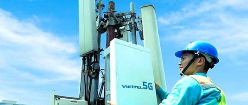 Viettel thử nghiệm phát sóng trạm 5G đầu tiên tại Việt Nam, tốc độ tương đương nhà mạng Mỹ