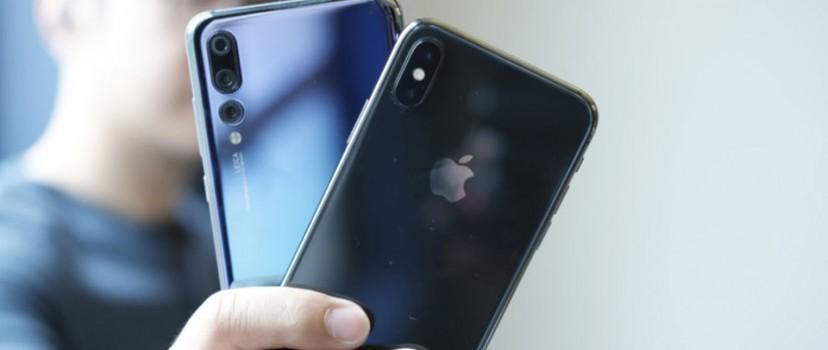 Doanh số iPhone giảm mạnh, Huawei tiếp tục vượt mặt Apple