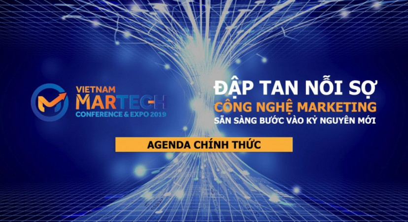 Khám phá Agenda chương trình nghị sự tại Vietnam MarTech 2019