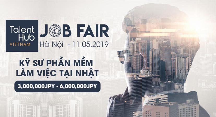 TalentHub Jobfair – Kết nối cơ hội làm việc tại Nhật dành cho các Kỹ sư Việt Nam