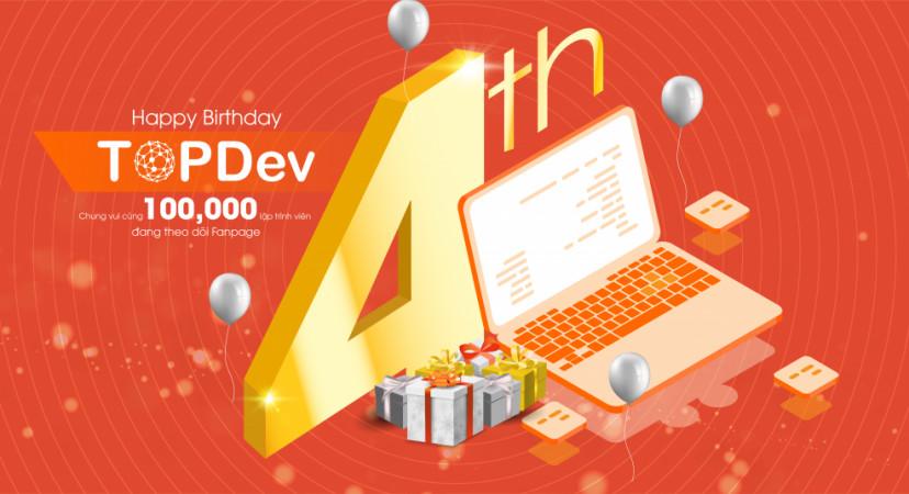 Chặng đường 4 năm 1 sứ mệnh cùng cộng đồng IT Việt Nam của TopDev